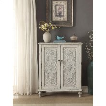 Anthology Brittney Antique White 2-Door Chest