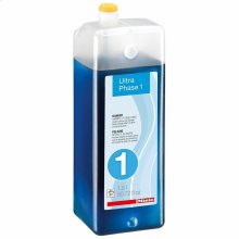 WA UP1 1501 L UltraPhase 1 cartridge, 0.39 gl 2-component detergent for whites and colors.