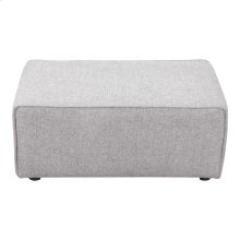 Rodeo Ottoman Light Grey