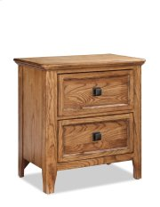 Alta Two Drawer Nightstand Product Image