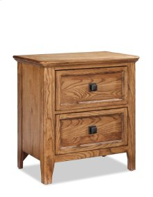 Alta Two Drawer Nightstand