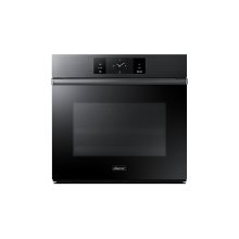 """30"""" Steam-Assisted Single Wall Oven, Graphite Stainless Steel"""