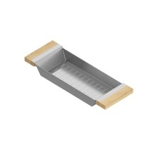 Colander 205317 - Stainless steel sink accessory , Maple