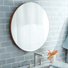"22"" Caramel Bamboo Solace Mirror"