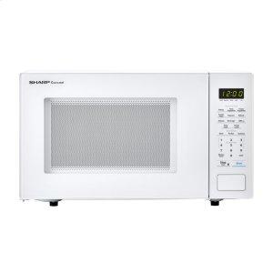 Sharp Appliances1.1 cu. ft. 1000W Sharp Countertop White Microwave