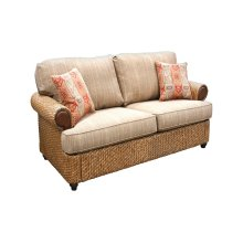 Loveseat, Available in Carmelo Finish Only.
