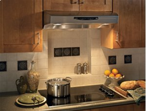 "36"", Stainless Steel, Under Cabinet Range Hood, 300 CFM"