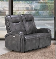 Easy Living Swiss Dual Reclining Loveseat with USB