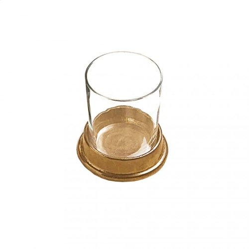 Glass Holder - GH100 White Bronze Medium