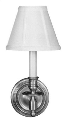 Visual Comfort S2110BZ-L Studio French Library 1 Light 6 inch Bronze Decorative Wall Light in Linen