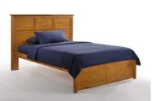 Tarragon Bed in Medium Oak