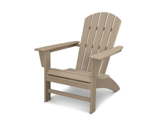 Vintage Sahara Nautical Adirondack Chair in Vintage Finish