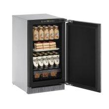 "18"" Solid Door Refrigerator Integrated Solid - Right-Hand Hinge"