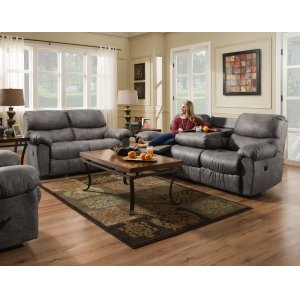 American Furniture ManufacturingAF310 - Santa Fe Gray Sofa