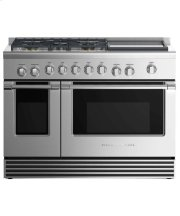 """Dual Fuel Range 48"""", 5 Burners with Griddle (LPG) Product Image"""
