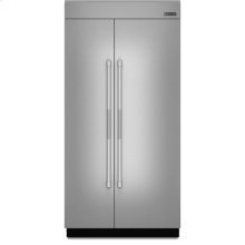 42-inch Stainless Steel Panel Kit for Fully Integrated Built-In Side-by-Side Refrigerator