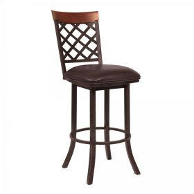 "Armen Living Bree 30"" Bar Height Barstool"