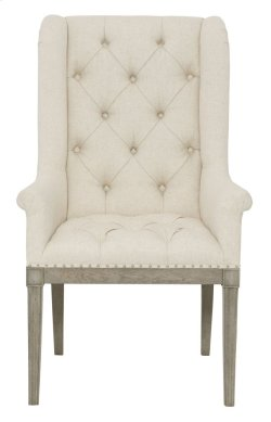 Marquesa Host Dining Chair in Marquesa Gray Cashmere (359)