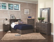 2-Drawer Mates Bed Base (add a hdbd)