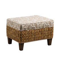 Ottoman, Available in Abaca or Seagrass Finish.