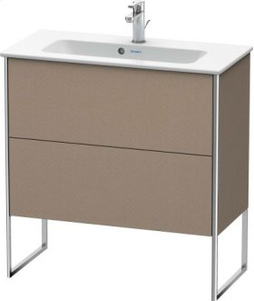 Vanity Unit Floorstanding Compact, Linen (decor)