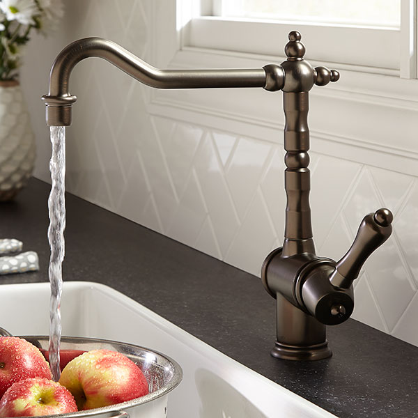 Hidden · Additional Victorian Kitchen Faucet   Carbon Bronze