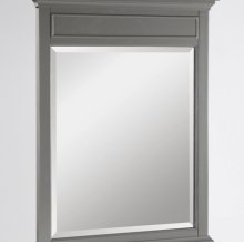 "Smithfield 28"" Mirror - Medium Gray"