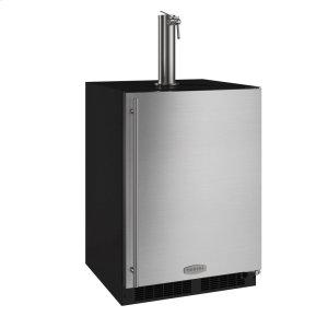 Marvel24-In Beverage Dispenser with Door Style - Stainless Steel, Door Swing - Right