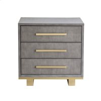 Miranda 3 Drawer Nightstand Product Image