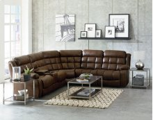 STANDARD 4016912-6042-6632 Destination Power Reclining 3-Pc Sectional Sofa