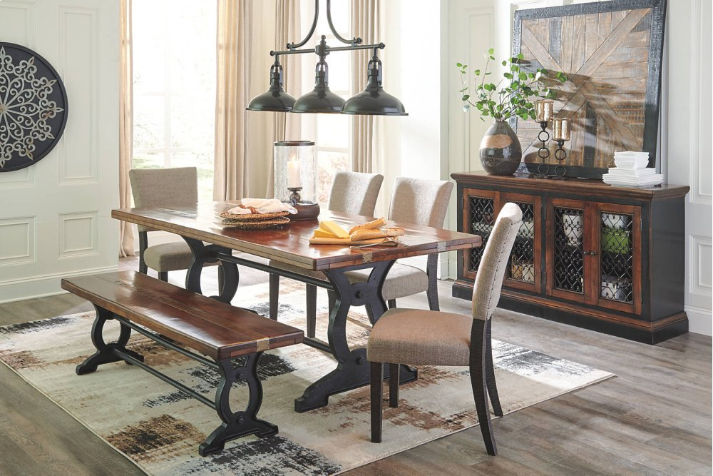 D70900 in by Ashley Furniture in Hastings NE Large Dining Room Bench