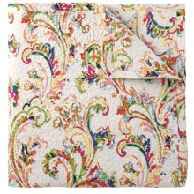 Freesia Quilt & Shams, MULTI, STAND