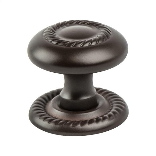 Advantage Plus Four Oil Rubbed Bronze Light Roped Knob