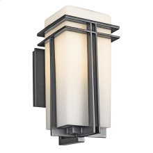 Tremillo Collection Tremillo outdoor 1 Light Wall Light in Black