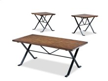 Living Room 3 table pack, 2 end,1 cocktail 250-001 3PAK