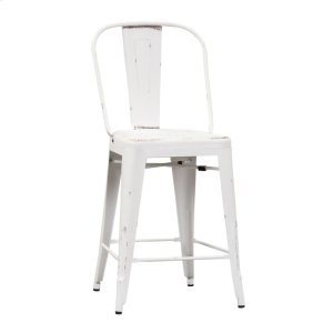 Liberty Furniture IndustriesBow Back Counter Chair - Antique White