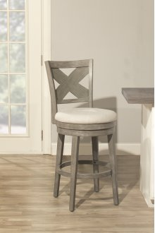 Sunhill Swivel Stool - Weathered Gray