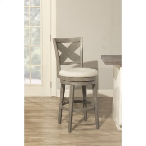 Hillsdale FurnitureSunhill Swivel Stool - Weathered Gray