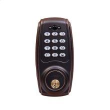 Transitional Electronic Keypad Deadbolt - Grade 2
