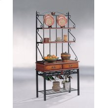Traditional Tobacco Baker's Rack