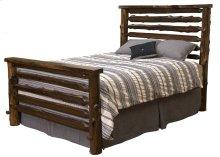 Modern Log Bed King, Modern Cedar