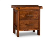 Rafters 2 Drawer Nightstand