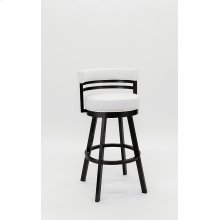 Miramar Black Stainless Bar Stool