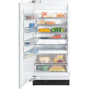 MieleF 1913 SF MasterCool freezer More space and maximum convenience with IceMaker and telescopic drawers