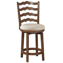 Big and Tall Ladderback Counter Stool