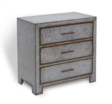 Carlton 3 Drawer Chest - Grey