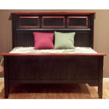 "#407 Kingston Bed Headboard58""h Footboard 30""h"