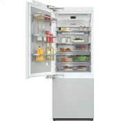 KF 2811 Vi - MasterCool™ fridge-freezer with high-quality features and maximum storage space for exacting demands.