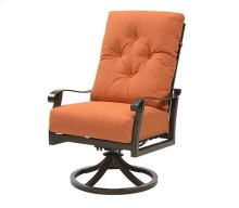 Chatham II Dining - Swivel Chair Sunbrella #48026 Cayenne