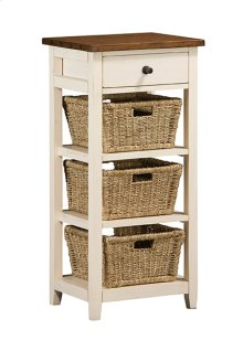 Tuscan Retreat® 3 Basket Stand - Country White